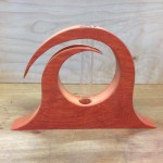 Padauk Curl unfinished
