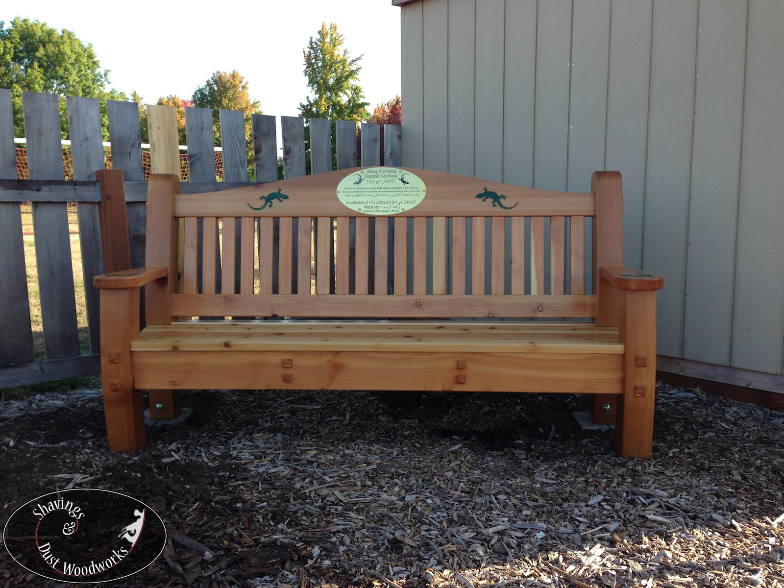 Prime Garden Bench Shavings And Dust Woodworks Evergreenethics Interior Chair Design Evergreenethicsorg